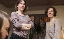 Édith Jolivet et Audrey Mohaër, coprésidentes de l'association Un Zèbre à Vitré. © Thomas Crabot