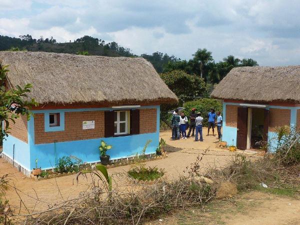 Gite financé par la coopération du Département avec Madagascar