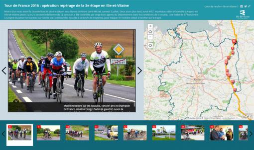 Les agents du Département peaufinent la 3e étape du Tour de France 2016