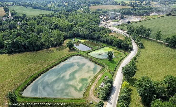 Le futur emplacement du viaduc de Saint-Médard-sur-Ille.