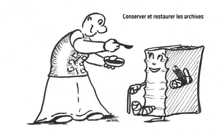 La conservation et la restauration des archives vues par Soaz