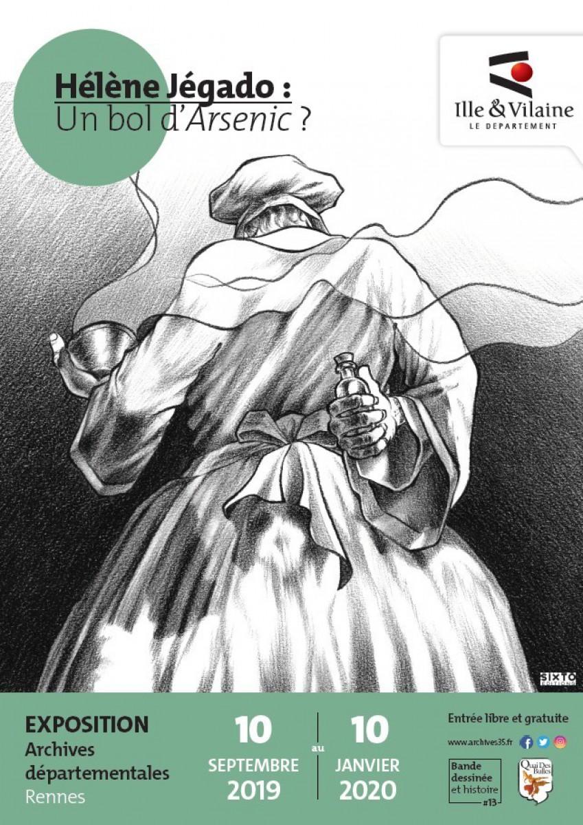 Hélène Jégado : un bol d'Arsenic ? - Affiche de Luc Monnerais