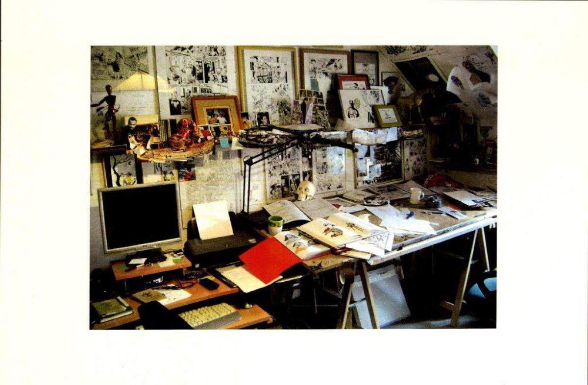 L'atelier du dessinateur